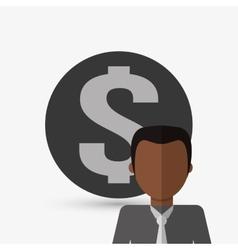 Person design man icon Flat vector image