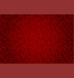 red fire pattern vector image