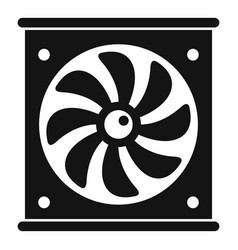 Ventilator icon simple style vector