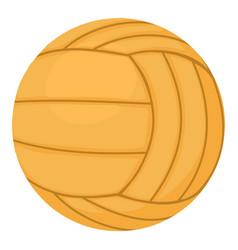 Volleyball ball icon cartoon style vector