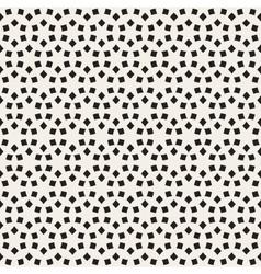 Seamless black and white lattice pattern vector