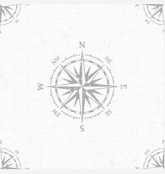wind rose background vector image