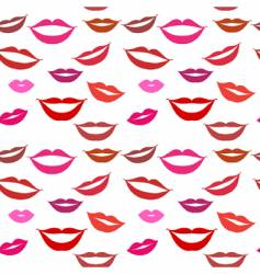 facial features background vector image