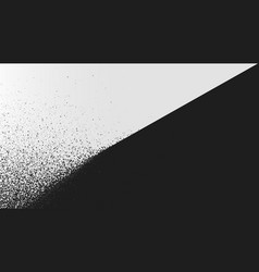 black and white background dust explosion spray vector image