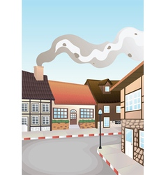 Colony of houses vector