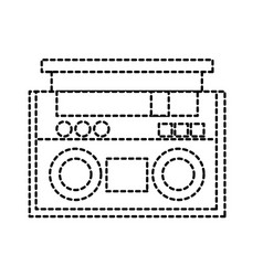 Dotted shape radio object technology to listen vector