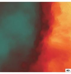 Fire Background Mosaic vector