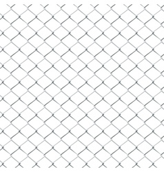 Metal Mesh Fence3 vector image