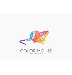 Mouse logo Color mouse Little mouse Creative vector
