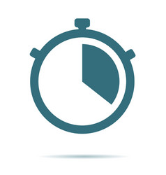 stop watch icon modern simple flat stopwat vector image