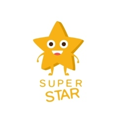 Super Star Word And Corresponding vector