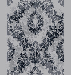 Vintage classic decor pattern beautiful vector