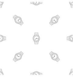 Wrist watch pattern seamless vector