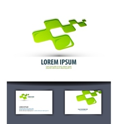 Business Logo icon emblema sign template business vector image