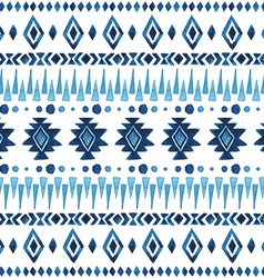Seamless aztec pattern vector