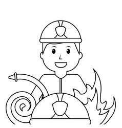 people worker profession card vector image