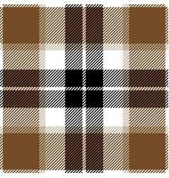 beige tartan plaid seamless pattern vector image