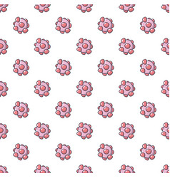 Cell virus pattern seamless vector