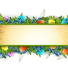 Easter Decorative Frame vector