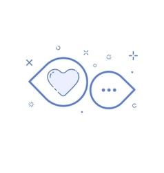 icon shopping concept info vector image