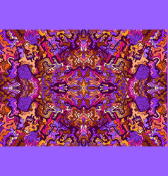 Psychedelic trippy colorful surreal artistic vector