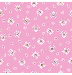 Seamless texture chamomile vector image