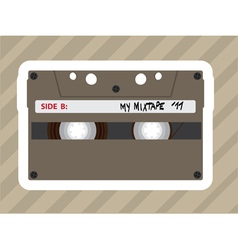 Tape players vector image