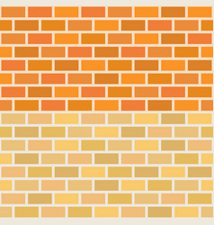 wall brick in two tone seamless pattern vector image