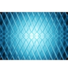 Blue tech stripes bright pattern background vector image vector image