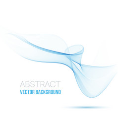 abstract background transparent waved vector image