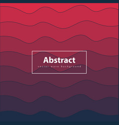 Abstract colorful background red and dark blue vector