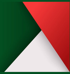 Geometric triangles layers design vector