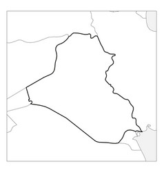 Map Iraq Detailed Vector Images (59)