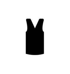 womens knitted waistcoat clothes icon vector image