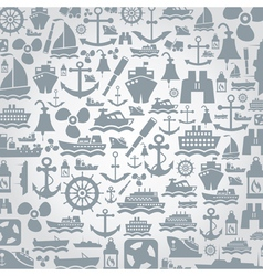 Ship a background vector image