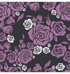 seamless vintage flower vector image