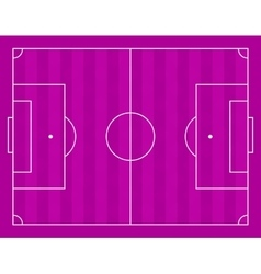 A football field vector