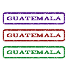 Guatemala watermark stamp vector