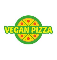 Logo pizza vector