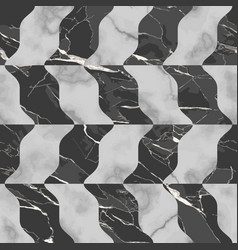 Marble luxury seamless pattern with mosaic effect vector