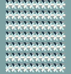 Seamless colorful geometric polygons patterns vector