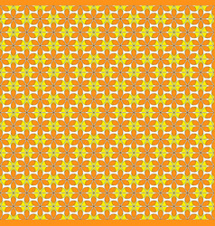 Seamless pattern colorful floral decoration vector