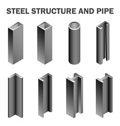 Steel structure vector image vector image