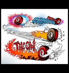 hot wheels vector image vector image