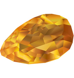 Beautiful fire opal vector
