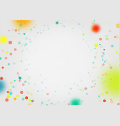 celebration background with confetti holiday vector image