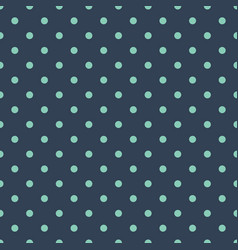 classic dotted seamless pattern polka dot vector image