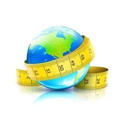 Global diet concept vector