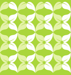 green leaf background logo vector image