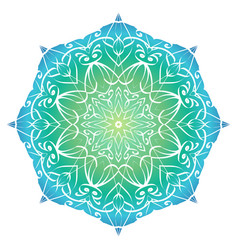 mandala with a gradient background for your vector image